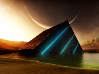 3D-Pyramid-HD-Wallpaper