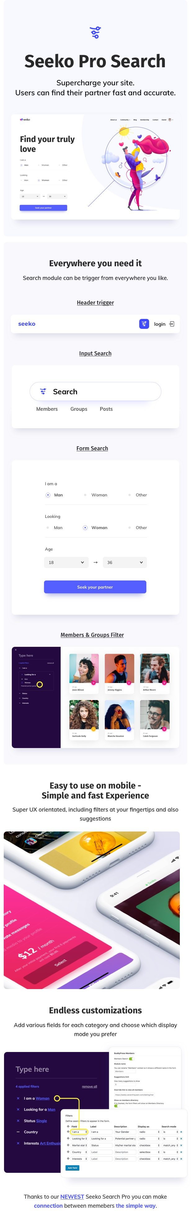 Seeko - Community Site Builder with BuddyPress SuperPowers - 6