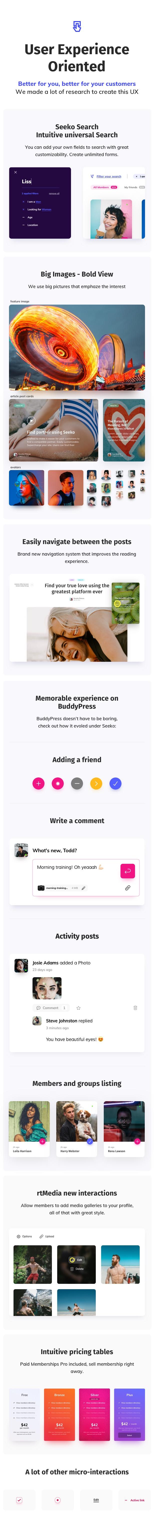 Seeko - Community Site Builder with BuddyPress SuperPowers - 10